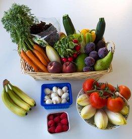 Fruit- en groenten mand (4-5 pers)