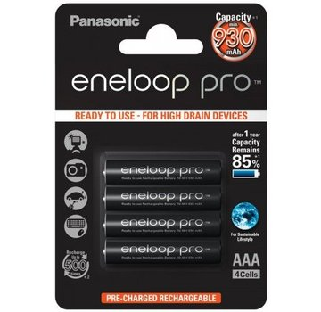 Eneloop Pro AAA Oplaadbare Batterijen 930mAh