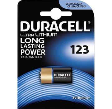 Duracell CR123A Lithium 3V