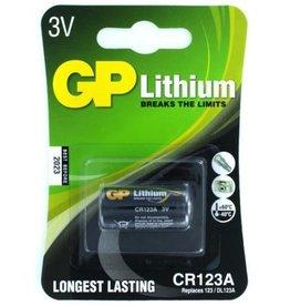 GP CR123A Lithium 3V