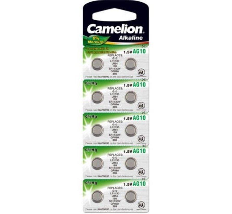 Camelion Alkaline  AG10 - blister 10