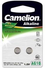 Camelion alkaline  AG10  blister 2