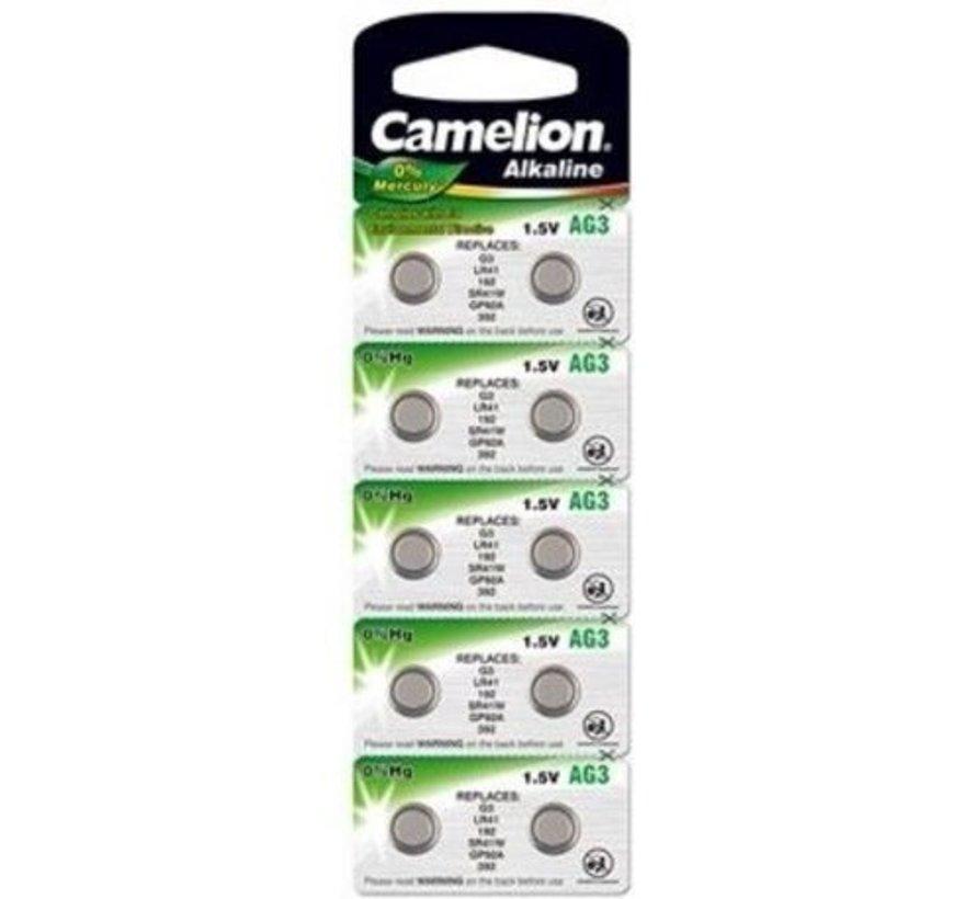 Camelion Alkaline AG3 - blister 10