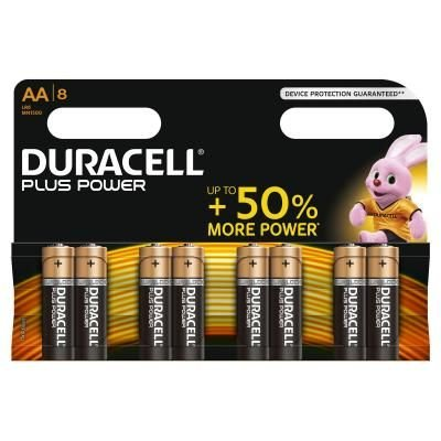 Duracell Power Plus Alkaline AA /LR6 - blister 8