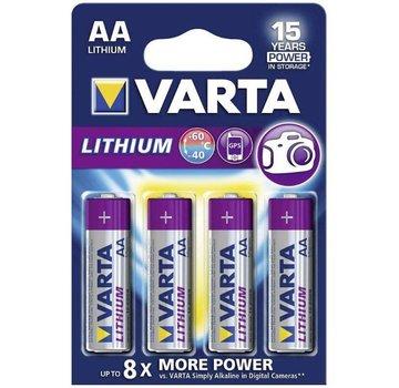 Varta Lithium AA - blister 4