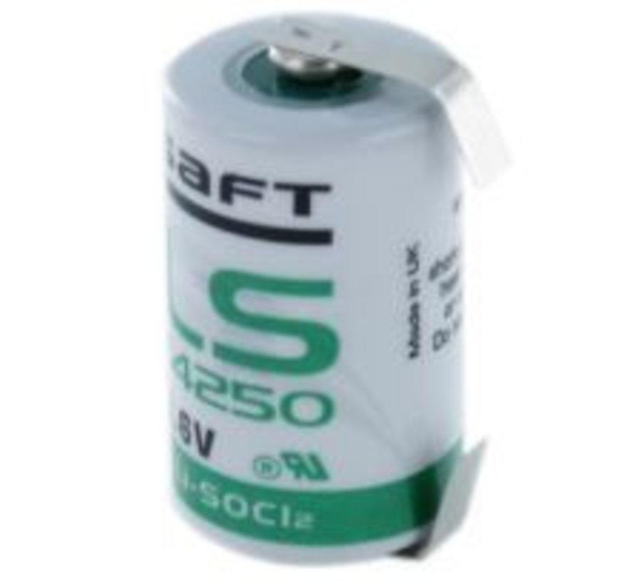 Saft Lithium 1/2 AA LS14250 U-tags