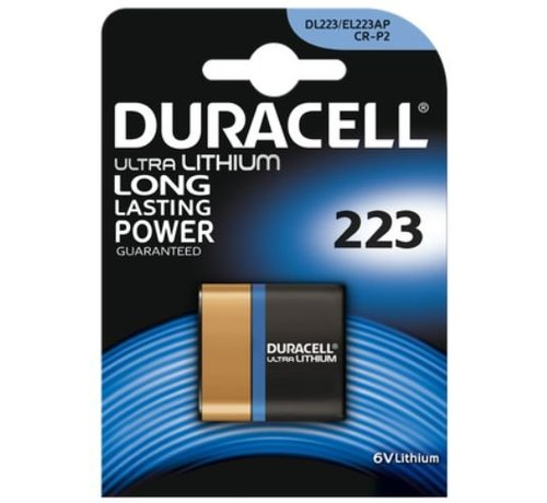 Duracell Lithium DL223 / CR-P2 - blister 1