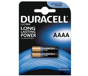 Duracell Ultra Alkaline AAAA -  blister 2
