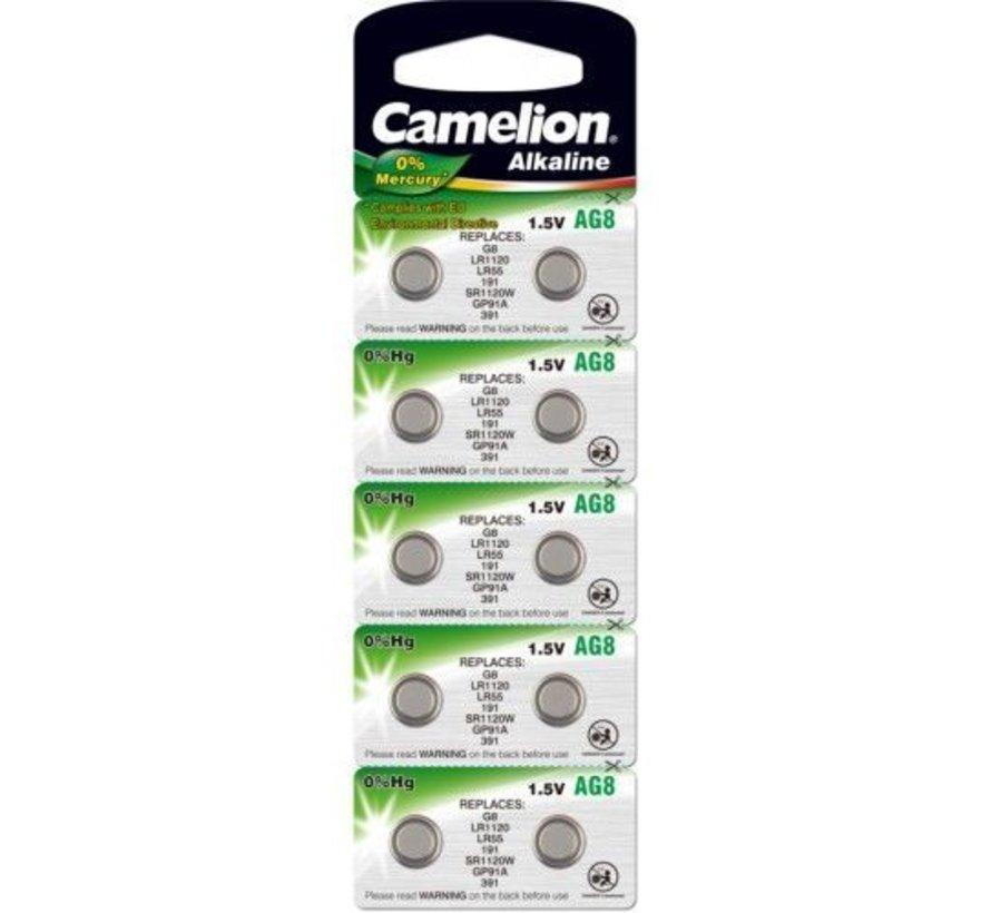Camelion Alkaline AG8 - blister 10