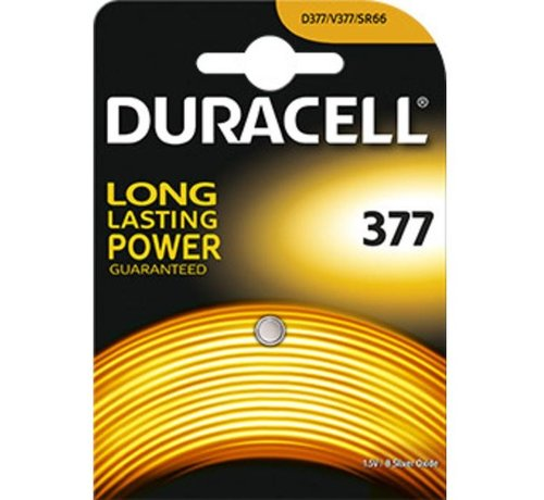Duracell Silver Oxide D377 blister 1