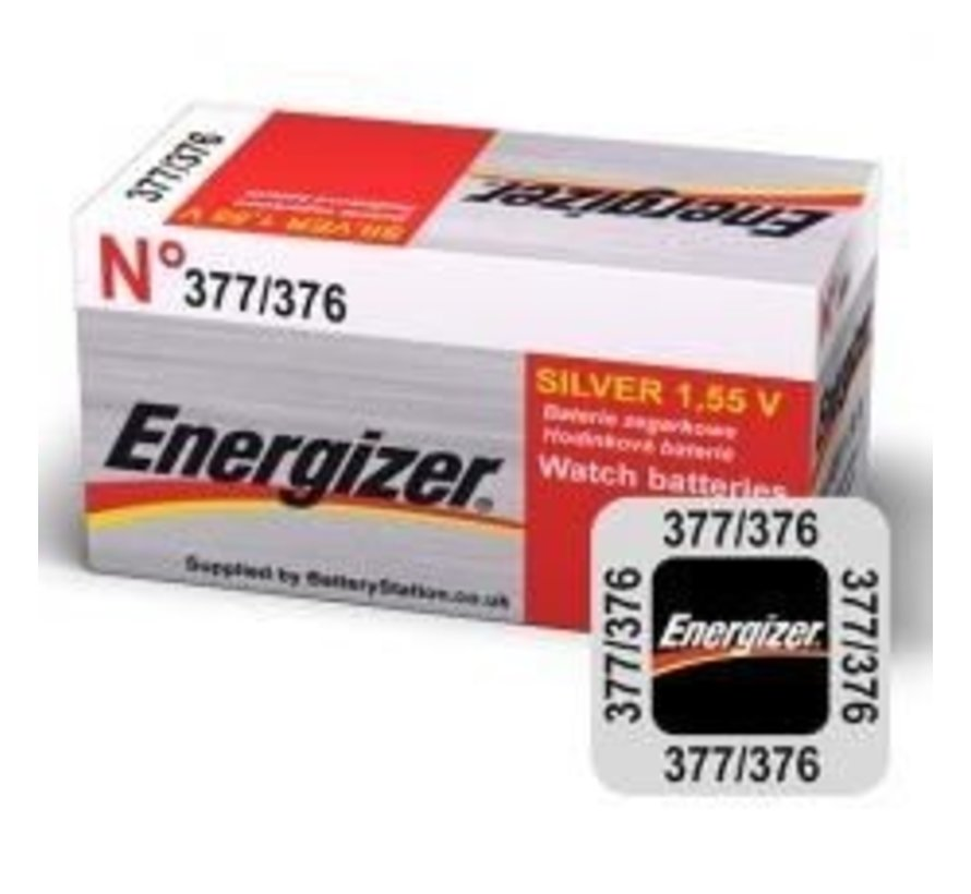 Energizer Silver Oxide 376/377 blister 1