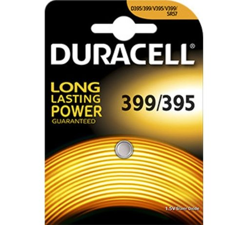 Duracell Silver Oxide D395 blister 1