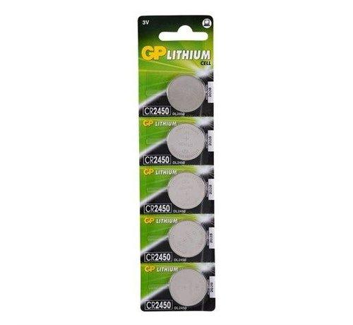 GP Lithium CR2450 blister 5