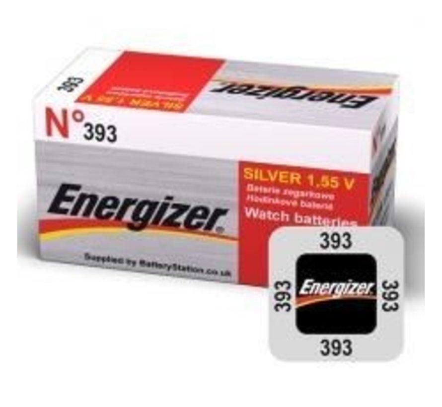 Energizer Silver Oxide 309/393 blister1