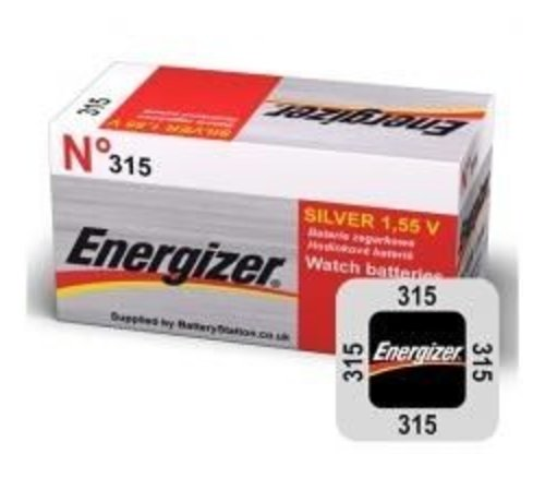 Energizer Silver Oxide 315 blister 1