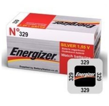 Energizer Silver Oxide 329 blister 1