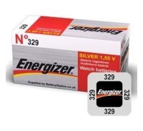 Energizer Silver Oxide 329 blister 1