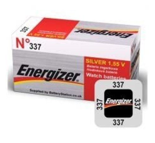 Energizer Silver Oxide 337 blister 1