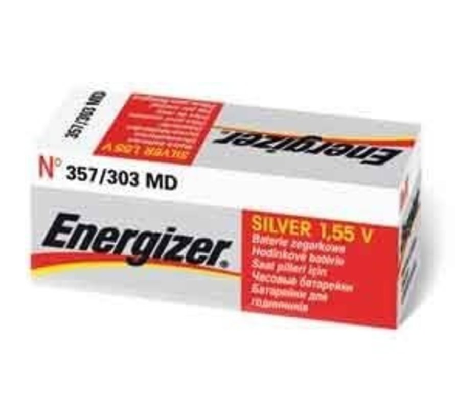 Energizer Silver Oxide 357/303 blister 1