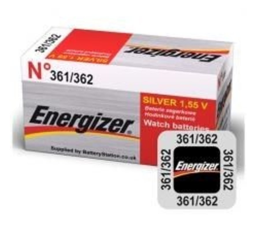 Energizer Silver Oxide 361/362 blister 1