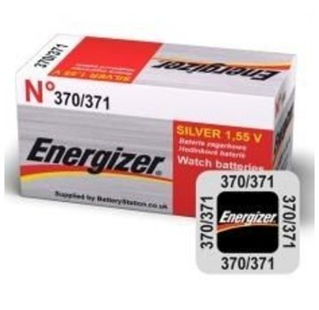 Energizer Silver Oxide 370/371 blister 1