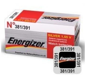 Energizer Silver Oxide 381/391 blister 1