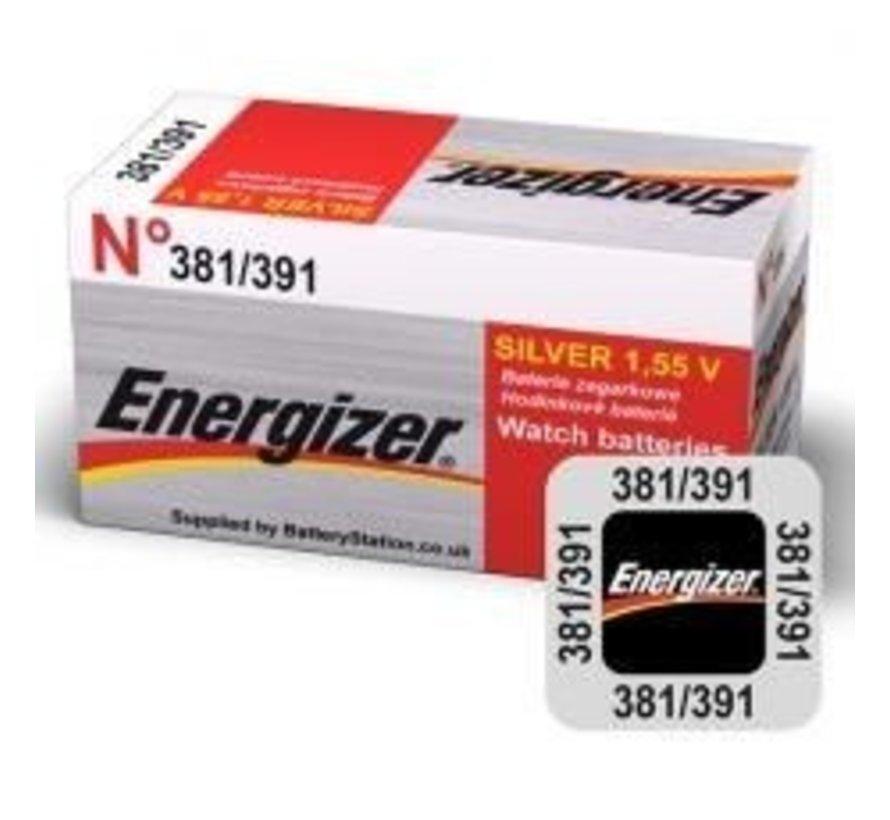 Energizer Silver Oxide 381/391 blister 1
