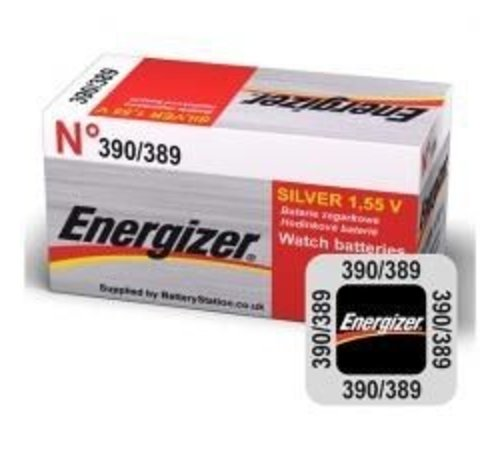 Energizer Silver Oxide 389/390 blister 1