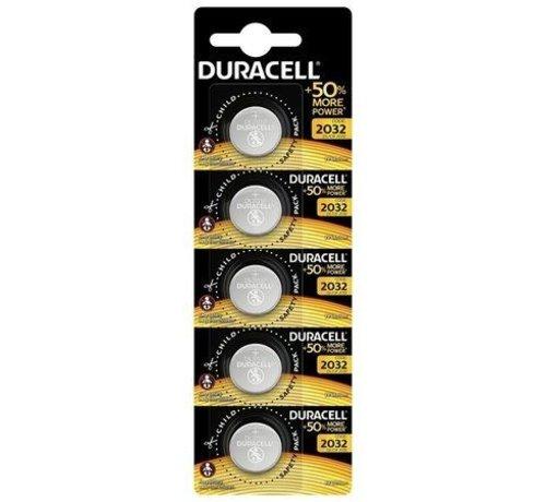 Duracell Lithium CR2032 3V blister 5