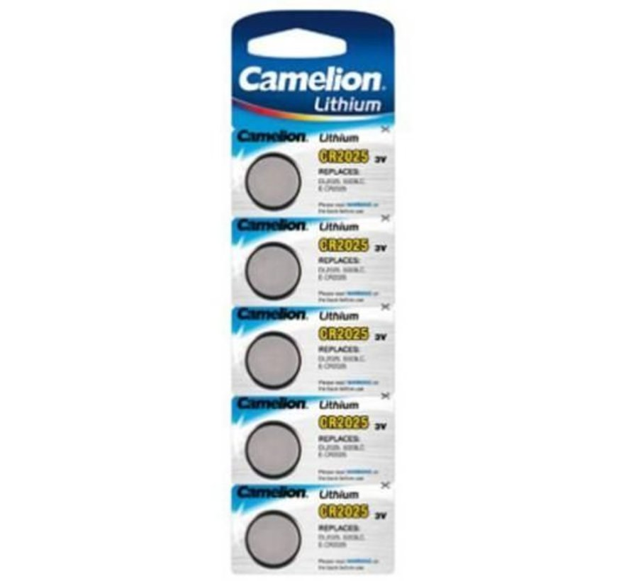 Camelion CR2025 blister 5