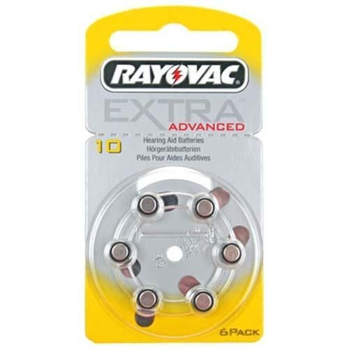Rayovac Extra Advanced 10 Hoortoestel batterij