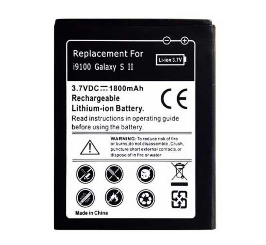 Batterij Samsung 19100 Galaxy S2 - Replacement