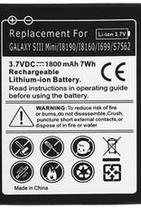 Batterij Samsung Galaxy S3 Mini 18190 NFC