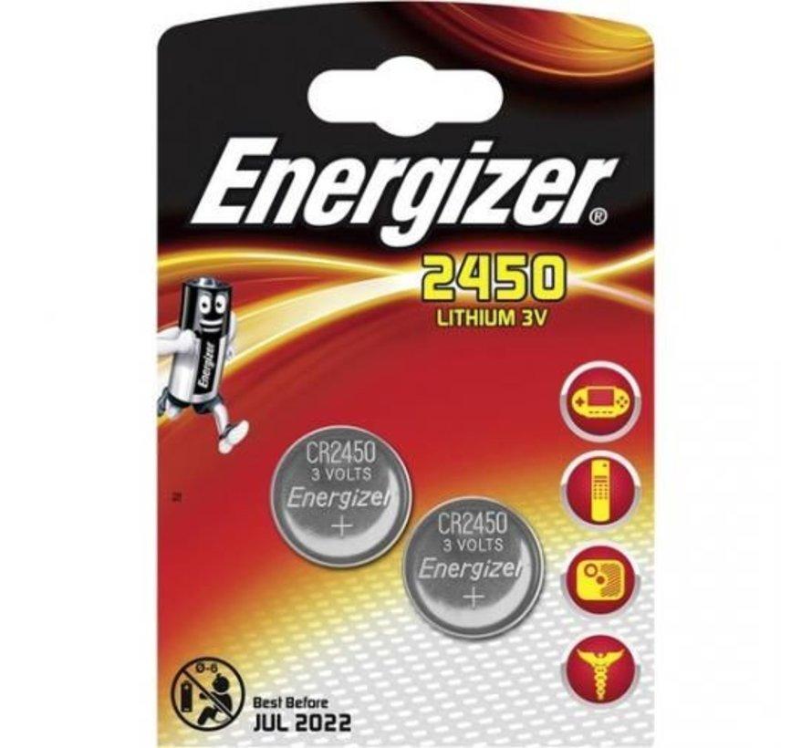 Energizer CR2450 blister 2