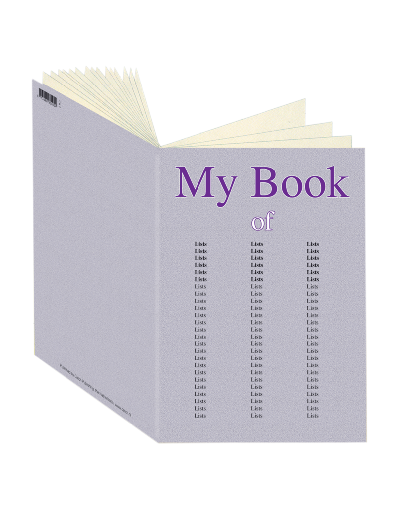 My book of lists Journal CB2