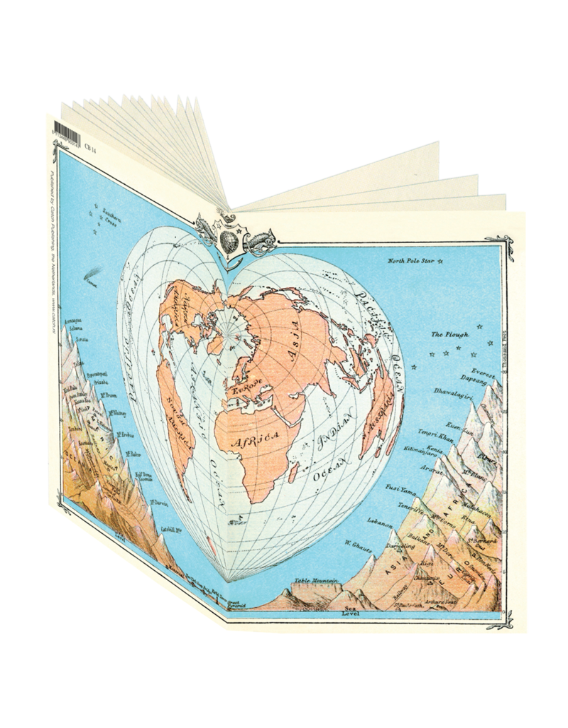 World Map Journal CB14