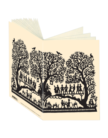 Papercut Music in the Tree Journal CB82