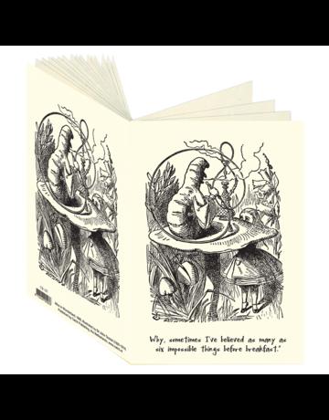 Alice in Wonderland, Caterpillar Journal CB107