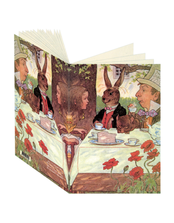 Alice in Wonderland, Mad Hatter's Tea Journal CB120