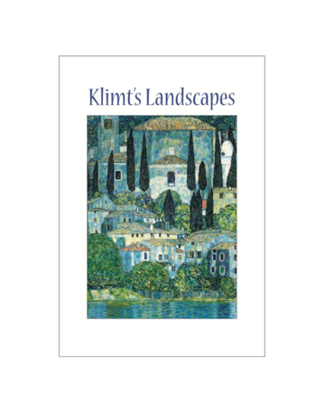 Klimt's Landscapes Postcard Pack