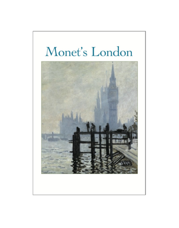 Monet's London Postcard Pack