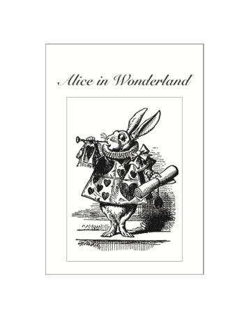 Alice in Wonderland Postcard Pack