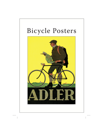 Bicycle Posters Postcard Pack PP014