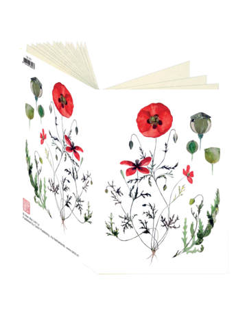 Poppies Collection Journal CB201