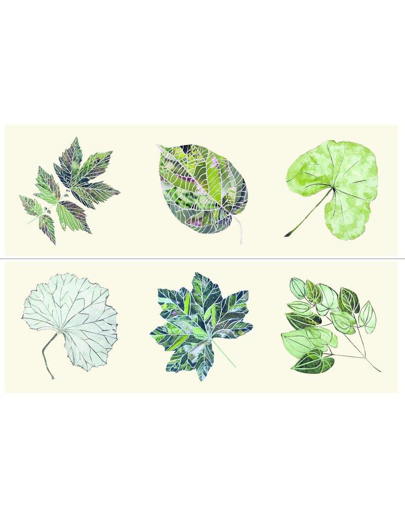 Set of 6 Leaves Coasters
