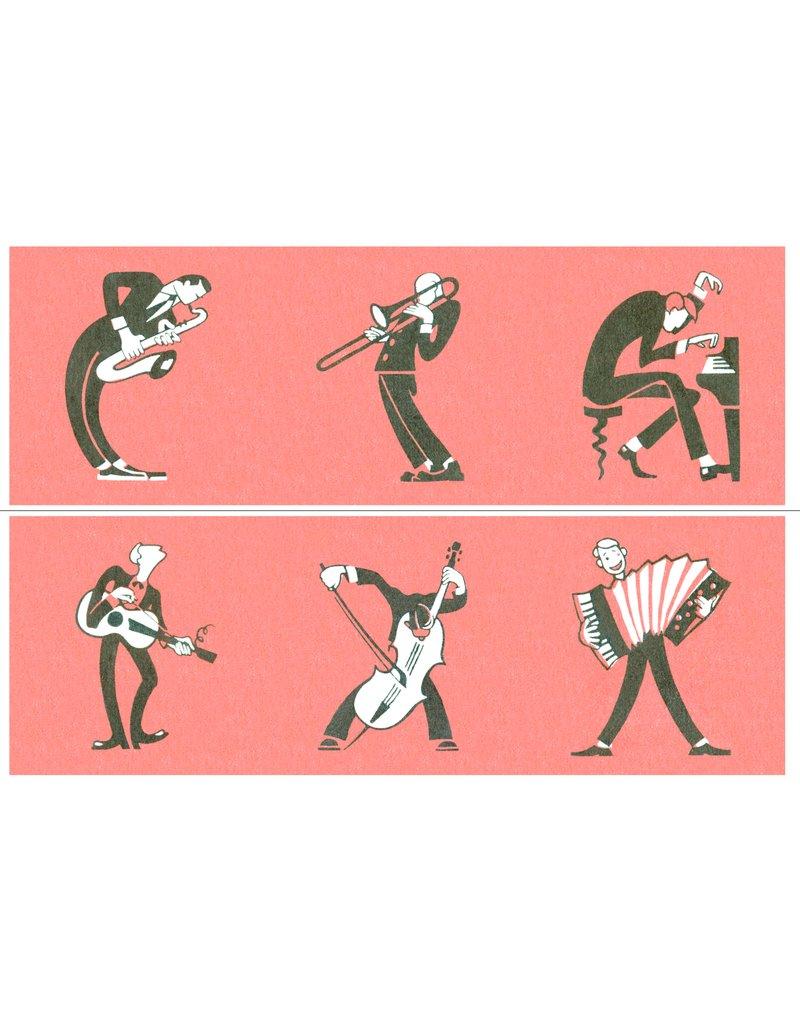 Set of 6 Musician Coasters
