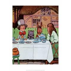 Mad Hatter's Tea Party, Alice in Wonderland