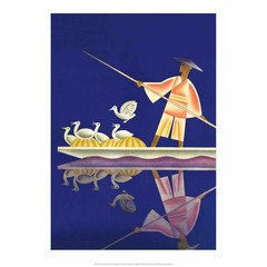 Birds and Boatman