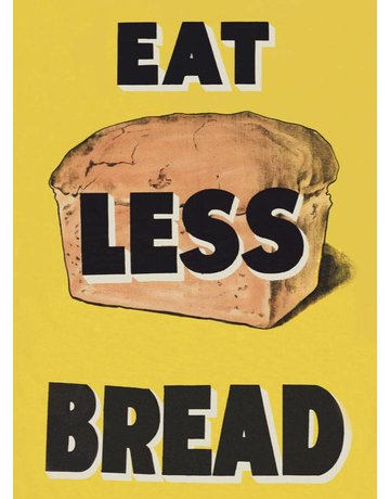 Eat Less Bread Magnet