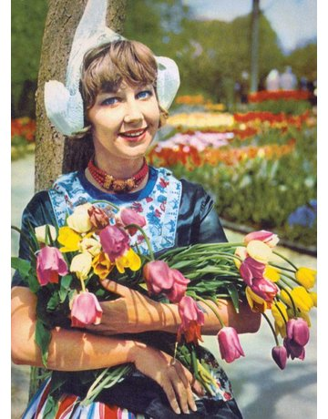 Dutch Armful of Tulips Magnet